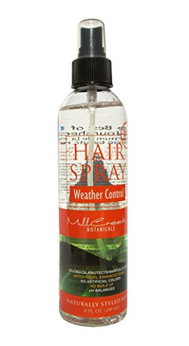 Mill Creek Hair Spray Weather Control, 8 Fluid Ounce
