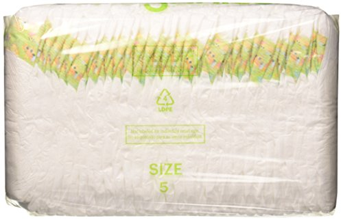 Babyganics Ultra Absorbent Diapers, Size 5, 136 Count by Babyganics (Image #1)