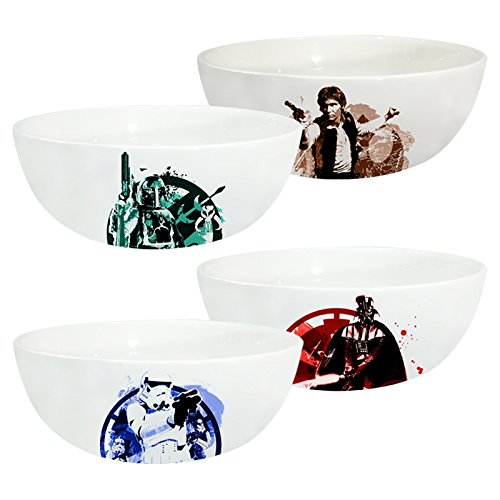 Vandor 55540 Star Wars Ceramic Bowl Set, 2