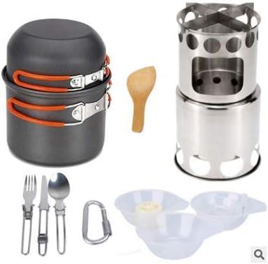 Juego de utensilios de cocina para camping de 11 piezas, AIDI ...