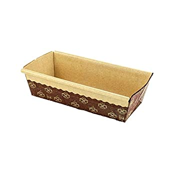 rectangular paper loaf pan molds small size 6 39 39 x2 5 39 39 x2 39 39 25pcs industrial. Black Bedroom Furniture Sets. Home Design Ideas