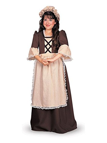 Rubie's Child's Colonial Girl Costume, Large ()