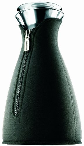 Eva Solo Cafe Solo Coffee Maker with Neoprene Cover, 1.4-Liter, Black