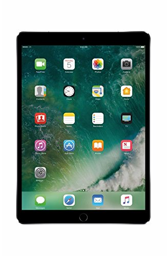 Apple iPad Pro 10.5 Inch 512GB Space Gray (WiFi Only, Mid 2017) MPGH2LL/A by Apple