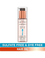 Sulfate Free Hair Oil, Dye Free Smoothing and Nourishing Treatment, Coconut, Hair Food, 3.2 FL OZ
