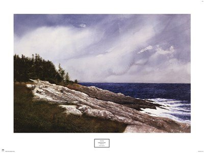 Pemaquid Point by Doug Brega - 30.5x22.75 Inches - Art Print Poster