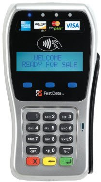 First Data FD-35 PIN pad with First Data-511 iPayment Encryption
