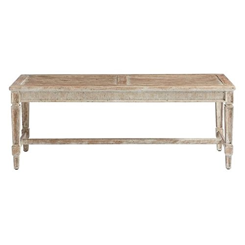 Stanley Furniture Juniper Dell Bed End Bench in English (English Clay)