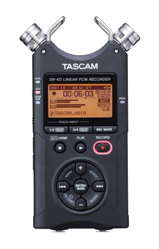 TASCAM DR-40 4-Track Portable Digital Recorder by Tascam