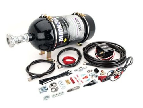 ZEX Nitrous 82242B 2005-2007 High Output Ford Modular 3 Valve Engine Blackout Nitrous System