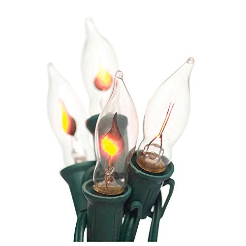 Brite Star 7 Count Flicker Flame Light Set, Clear