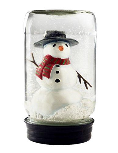 snow globes jars - 2