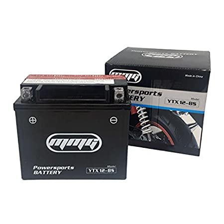 Review MMG YTX12-BS 12v Powersports