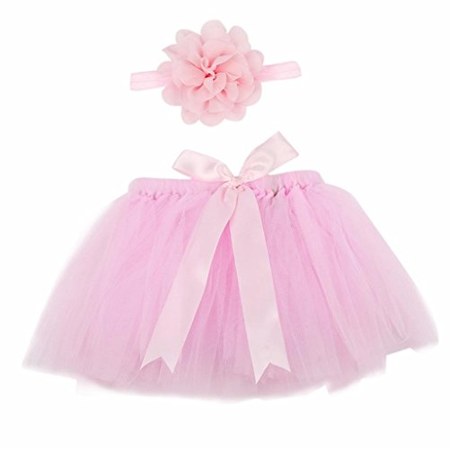 [Newborn Toddlers Baby Girls Boys Costume Photography Prop Clothes by FEITONG (Pink)] (Cute Halloween Costumes For Newborn Babies)