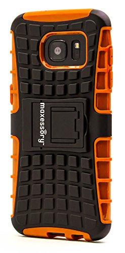 Shockproof Armor Case for Samsung Galaxy S7 Edge (Orange) - 7