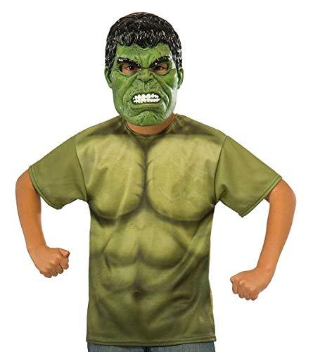 Thor Ragnarok Child's Hulk Costume Top, Large