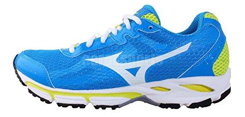 Mizuno AW14 Womens Wave Resolute 2 Running Shoes - Cushion True Blue / Vintage White Jnes8xc