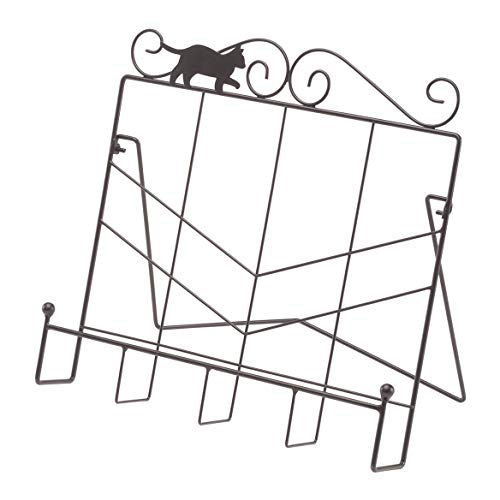 Whimiscal Cat Cookbook Holder by Home Style Kitchen