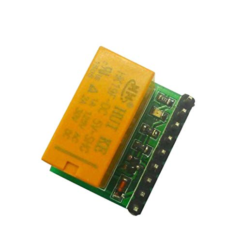 (Shengerm DC 5V DPDT Relay Module DR21A01 1 Channel Module Mini Portable Relay Board Polarity Reversal Switch Board for Arduino)