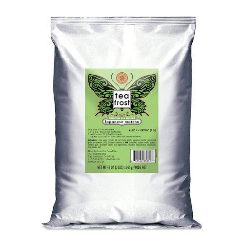 David Rio Tea Frost Premium Frappe Tea, Japanese Matcha, 3 lb Bag from Frost Tea