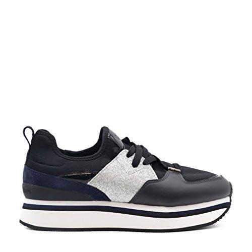 Alta Glitter E Applicazioni Sneakers di Suola con EqWYFU6