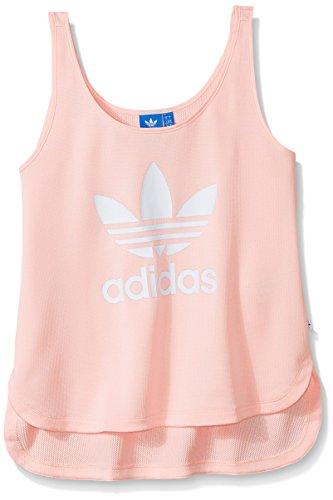 - adidas Originals Women's Loose Crop Tank, Icey Pink, XS
