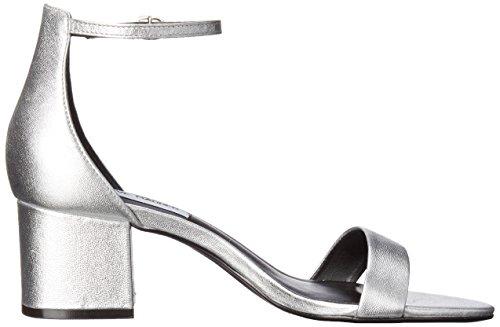 Argento Steve Irenee sandalo del tacco Madden qZFwqxP1