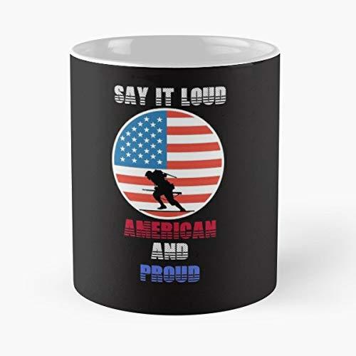 (Tee Shirt Usa A Gift Coffee/tea Ceramic Mug 11 Oz)