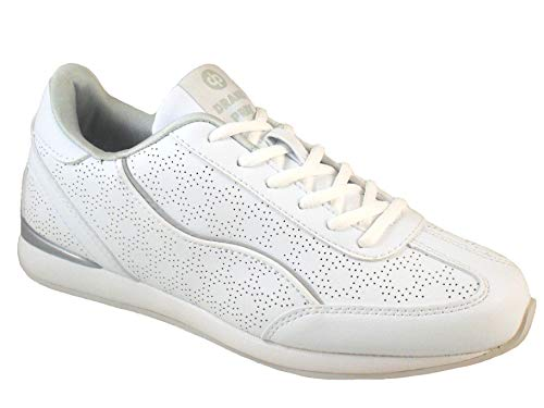 White Cosmic Pride Bowls Lawn Shoes Ladies Silver Lightweight Drakes p0wdqn4XEw