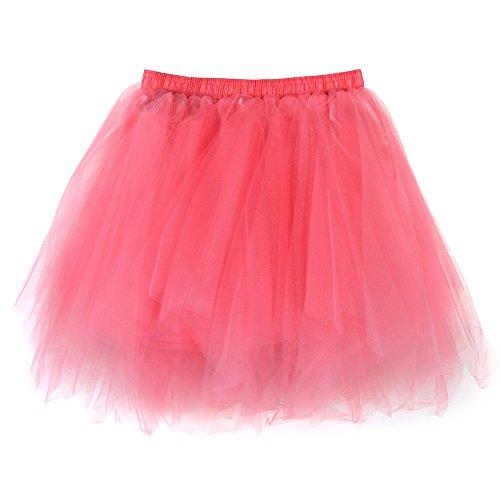 Sunenjoy Jupe Tulle Femme, Jupe Plisse Femme Courte Jupe Danse Classique Adulte Mini Tutu Jupe Gaze Jupe Taille Elastique Jaune 2