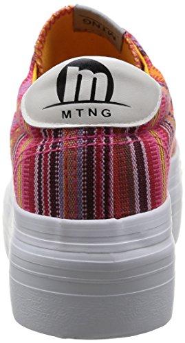 MTNG 69508 - Zapatillas con plataforma para mujer SAFARI NARANJA