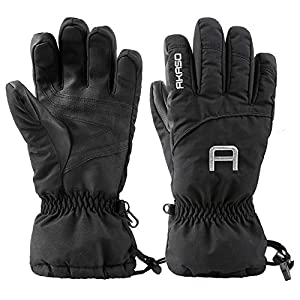 3e83120a99bdcb AKASO 3M Thinsulate Handschuhe Skihandschuhe Winterhandschuhe  Thermohandschuhe extrem warm wasserdicht Winddicht rutschfest atmungsaktiv  für Herren und