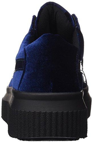 Femme 36 041379 Bass3d Navy Eu Noir navy Baskets Bleu 61UnWwqxHf