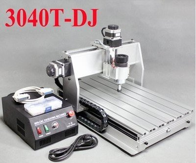 Huhushop(TM) New CNC 3040T-DJ Triaxial Router Engraving Machine Drilling Milling Engraving