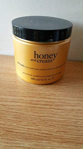 (Philosophy Glazed Body Souffle 16 fl.oz. (Honey and)