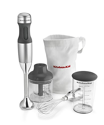 mmersion Kitchen Hand Blender Set Silver ()