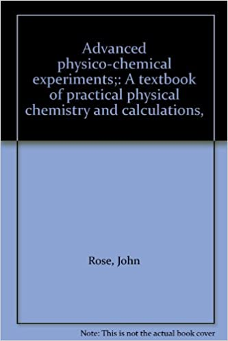 Advanced physico-chemical experiments