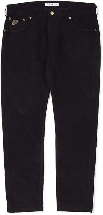 Lois Hombre Sierra Negro Aguja Pantalón de Pana W32 L32: Amazon.es: Ropa y accesorios