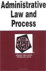 Admin Law&Proc in Nutshell (Nutshell Series)