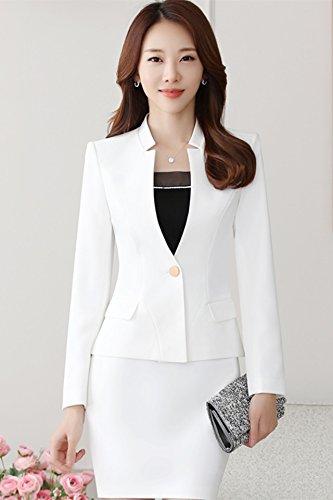 Amazon Com Women Wear Suits Ladies Autumn Fashion Business Suits