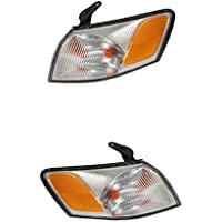 MonkeyJack Left & Right Marker Corner Signal Light Lamp Lens & Housing for 97-99 Camry