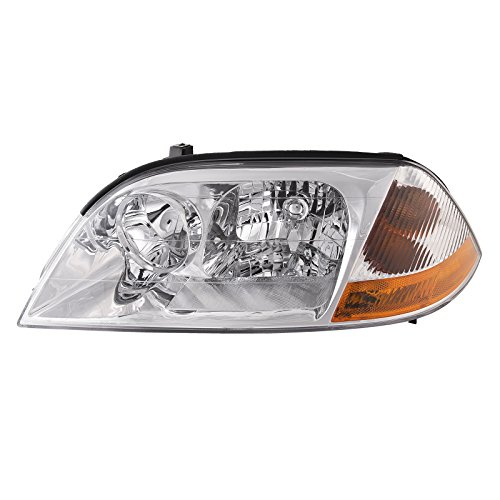 Headlights Depot Replacement for Acura MDX Headlight OE Style Replacement Headlamp Driver Side (Acura Mdx Headlight Assembly)