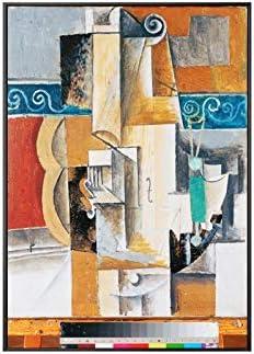 wzwlh Picasso mundialmente Famoso Guitarra Abstracta Lienzo ...
