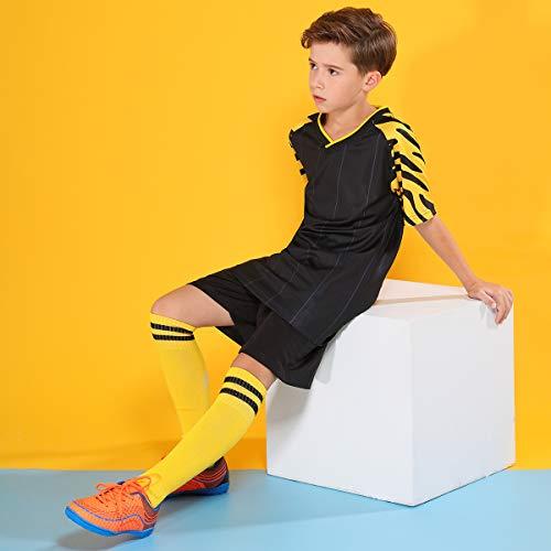 f63bdf416c7b Amazon.com | Hawkwell Kids Athletic Outdoor/Indoor Comfortable Soccer Shoes( Toddler/Little Kid/Big Kid) | Soccer