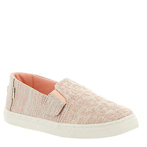 (Toms Women's Classic Canvas Red Slip-on Shoe - 7.5 B(M) US)