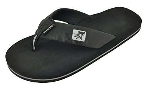 Onyx Slide (Panama Jack Mens EVA Thong Casual Sandal,Onyx,X-Large / 12-13 D(M))