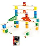 Hape 6006 Quadrilla Autobahn 175pc Marble Run with Bag of 50 Marbles