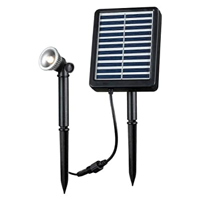 Kenroy Home 1 Watt LED Landscape Solar Spot Light Kit
