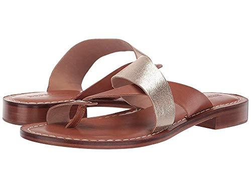 Bernardo Women's Tia Sandal Distressed Platinum/Luggage 9 M US