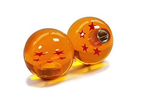 3 Star Kei Project Dragon ball Z Star Manual Stick Shift Knob With Adapters Fits Most Cars